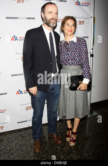 Brian F O'Byrne and Heather Goldenhersh Opening night after party for Off-Broadway play 'If There Is I Haven't - Stock Image
