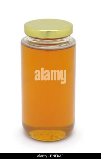 Jar of Honey - Stock Image