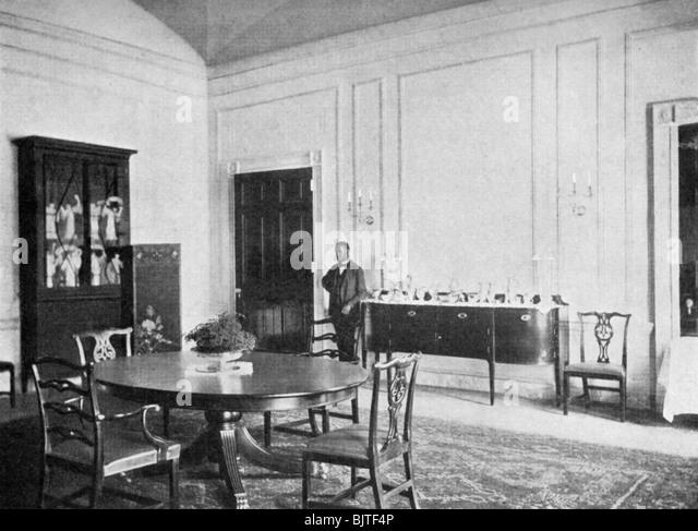 White house washington dc interior stock photos white for Best private dining rooms washington dc