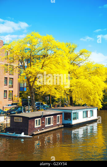 Autumn In Amsterdam Stock Photos Autumn In Amsterdam Stock Images Alamy