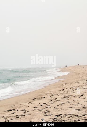 Beach landscape of Surfside Beach on Nantucket Island. - Stock-Bilder