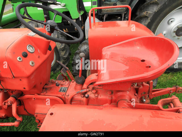 Griffith Tractor Seats : Runyon stock photos images alamy