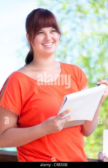 College student - Stock Image