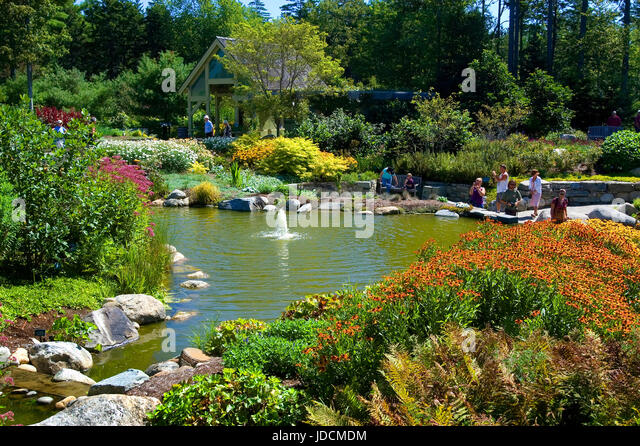 Coastal Maine Botanical Gardens Stock Photos Coastal Maine Botanical Gardens Stock Images Alamy