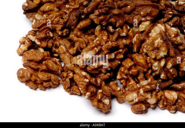 Pile of walnuts - Stock-Bilder
