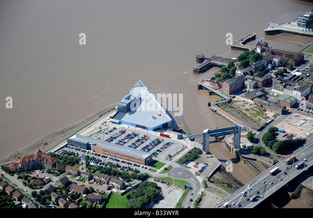 The Deep Aquarium, Hull, Humberside, Northern England - Stock Image
