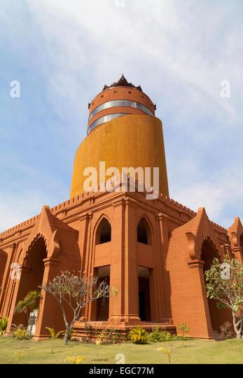 The new Bagan Viewing Tower, opened in 2005, Bagan, Myanmar ( Burma ), Asia - Stock Image