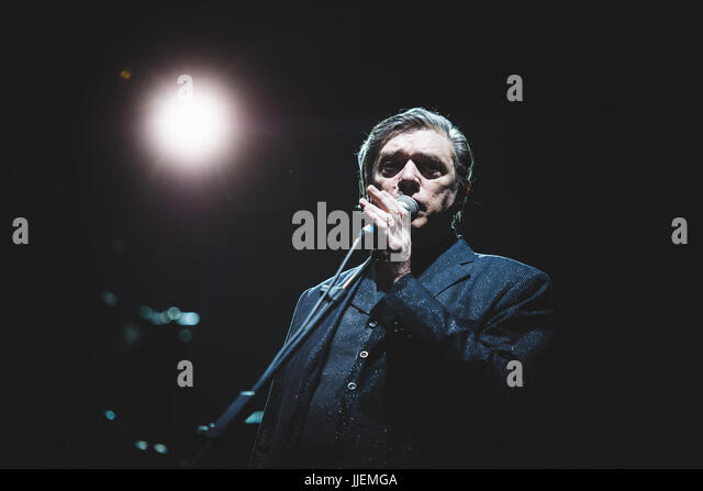 Collegno, Italy. 18th July, 2017. Einstürzende Neubauten performing live at the Flowers Festival 2017 in Collegno, - Stock Image