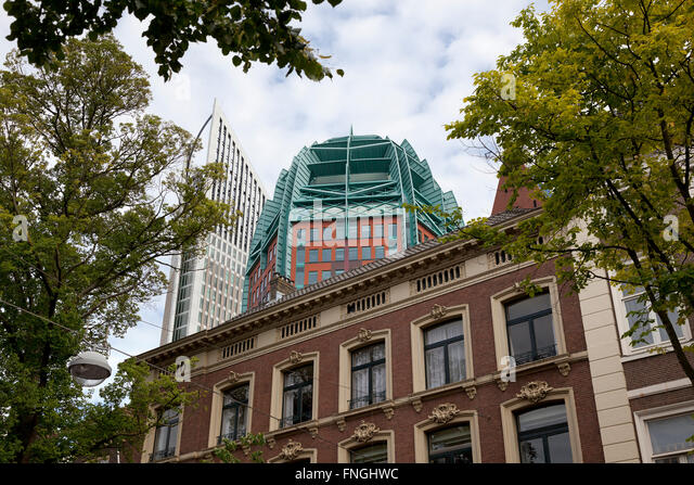 The Hague, Holland, old and new architecture - Stock Image