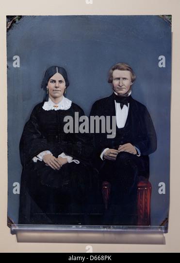 1800s tintype photograph - Stock-Bilder