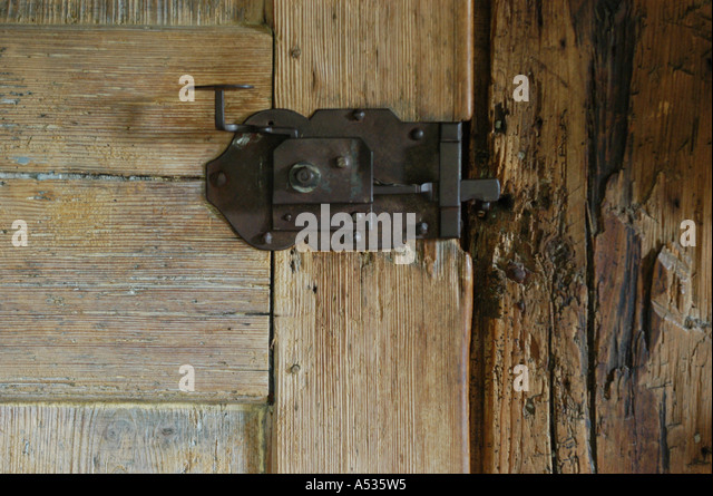 Apartment door lock stock photos apartment door lock for Door lock germany