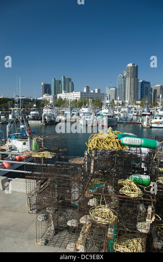 Port of san diego stock photos port of san diego stock for Lobster fishing san diego