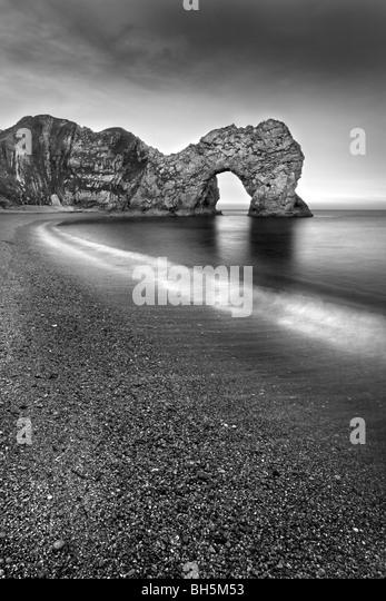 Durdle Door, Dorset, england, uk. - Stock Image