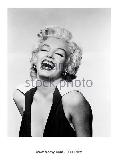 Marilyn Monroe Studio pin-up portrait - Stock Image