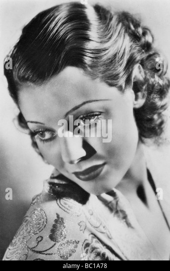 Loretta Young, American actress, c1930s. - Stock Image