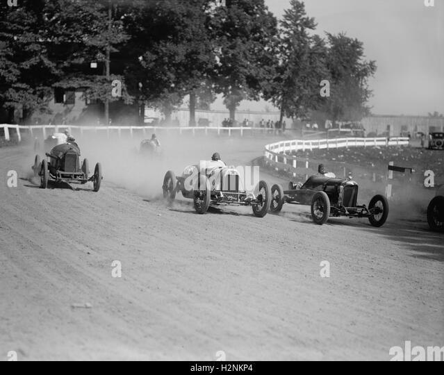 Auto Race, Rockville Fair, Rockville, Maryland, USA, National Photo Company, August 1923 - Stock Image