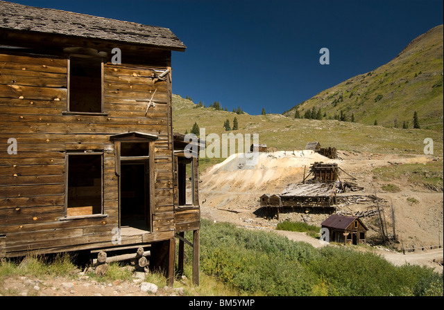 Mining Town Colorado Stock Photos Amp Mining Town Colorado