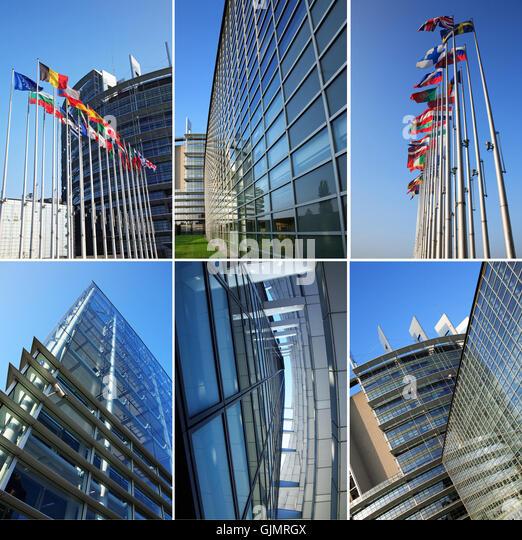 Council of europe strasbourg stock photos council of for Architects council of europe
