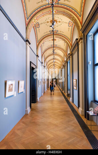 Interior of the Academy of Fine Arts (Akademie der bildenden Künste Wien), Vienna, Austria - Stock-Bilder