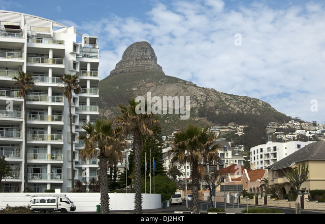 At Sea Point near Cape Town, South Africa - Stock Image