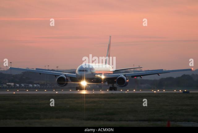 British Airways Boeing 777 - Stock Image