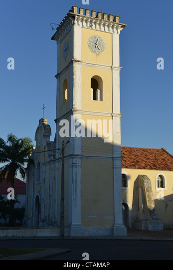 The Church of Our Lady of Conception, Inhambane, Mozambique - Stock Image