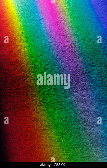 Bands of different colors - Stock Image