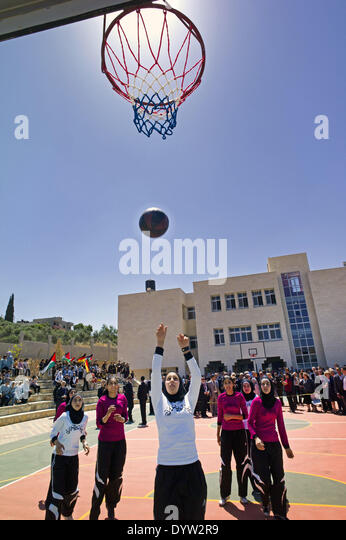 Basketball game - Stock Image