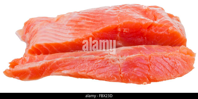 Side of smoked salmon stock photos side of smoked salmon for Red fish fillet