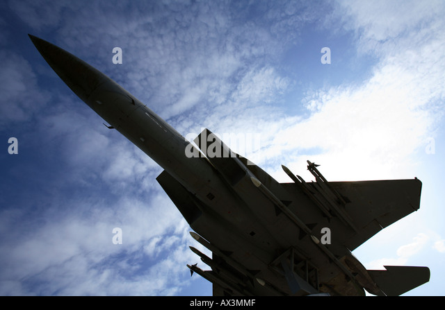 fighter jet - Stock Image