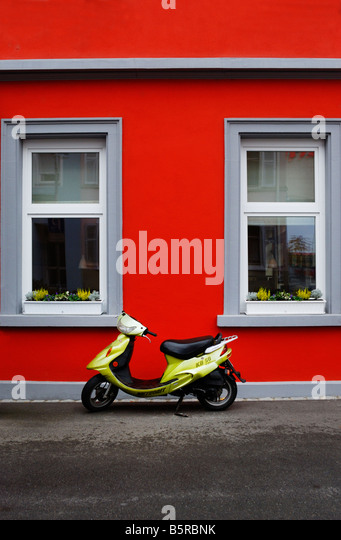 Moped ,Zurich Switzerland - Stock-Bilder