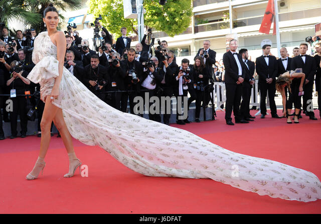 70th Cannes Film Festival 2017, Red Carpet film '120 Beats Per Minute (120 Battements Par Minute)' Pictured - Stock Image