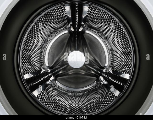 Washing Machine Drum - Stock Image