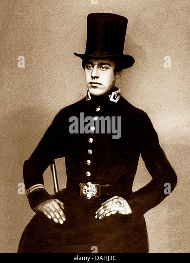 Victorian Policeman - Stock Image