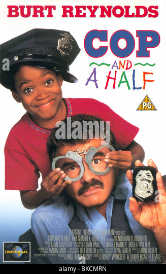COP AND A HALF -1993 - Stock Image