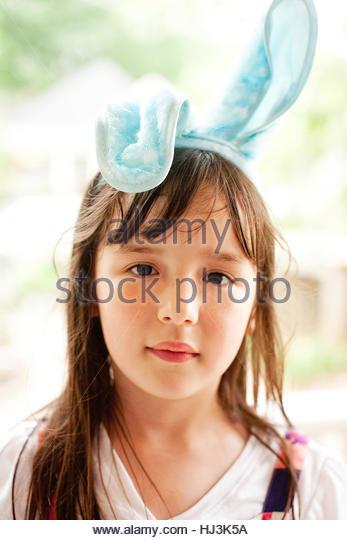 Emma Bunny Girl - Stock-Bilder