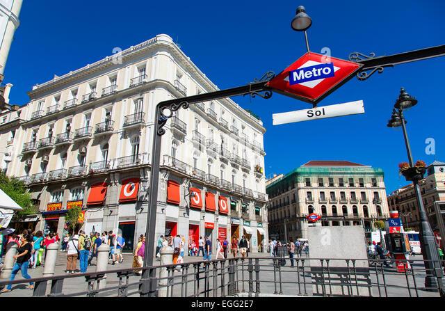 Puerta del sol madrid stock photos puerta del sol for Puerta del sol madrid