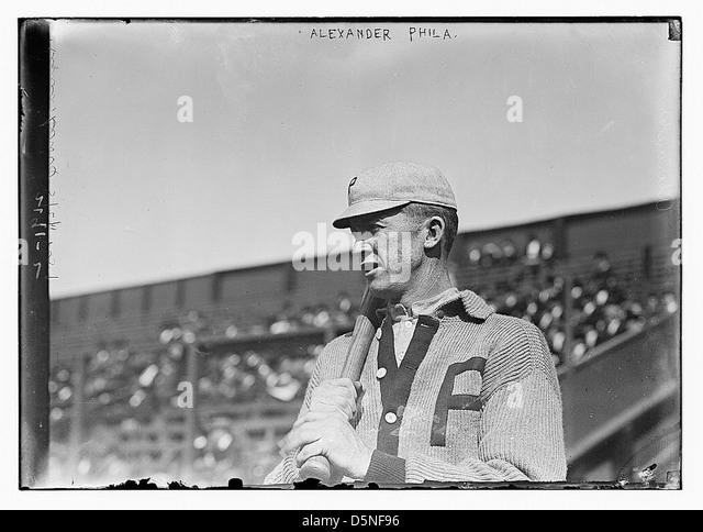 [Grover Cleveland Alexander, Philadelphia, NL (baseball)] (LOC) - Stock Image