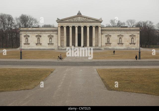 Glyptothek Museum at Konigsplatz in Munich, Germany. - Stock Image