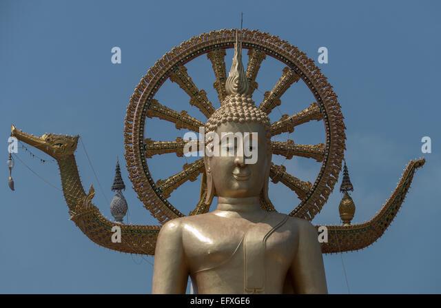 Thailand, Koh Samui, Big Buddha - Stock-Bilder