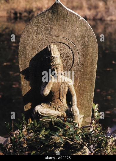 Samurai Gloom - Stock Image