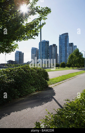Yaletown vancouver - Stock Image