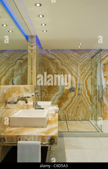 Shower fitting stock photos shower fitting stock images for Spanish villa interior design