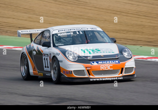 David Ashburn 2007 Porsche Carrera Cup GB - Stock Image