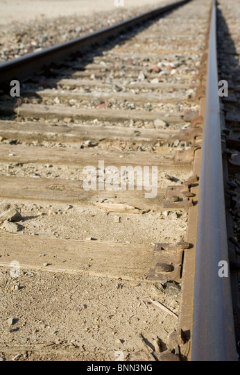 Train Tracks - Stock Image