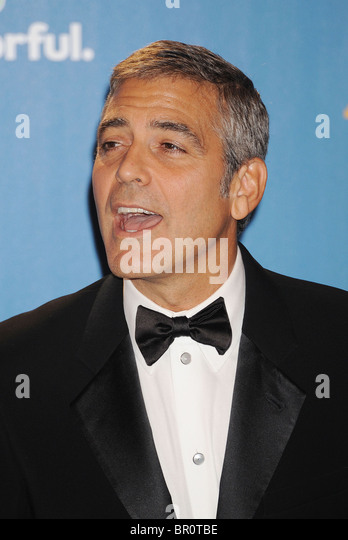 GEORGE CLOONEY US actor in August 2010. see Description below. Photo Jeffrey Mayer - Stock Image