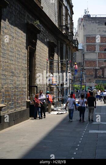 Casa de los azulejos mexico city stock photos casa de for Sanborns centro historico df