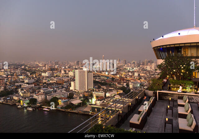 View of city from terrace at dusk stock photos view of for 1161 dawn view terrace