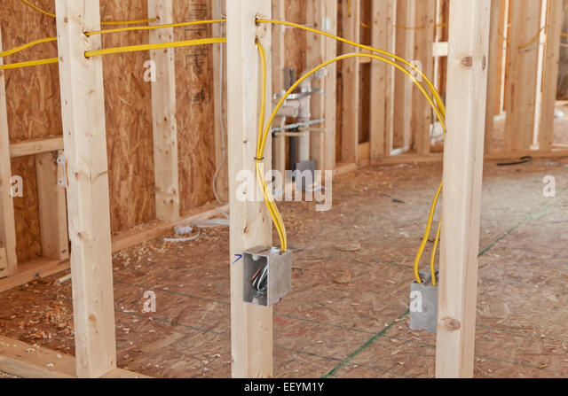 Wiring Electrical House Stock Photos Wiring Electrical