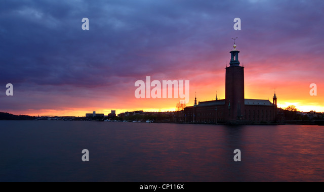 City Hall Stockholm - Stock Image